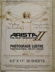 Arista-II Photograde Lustre Lustre/Satin Finish